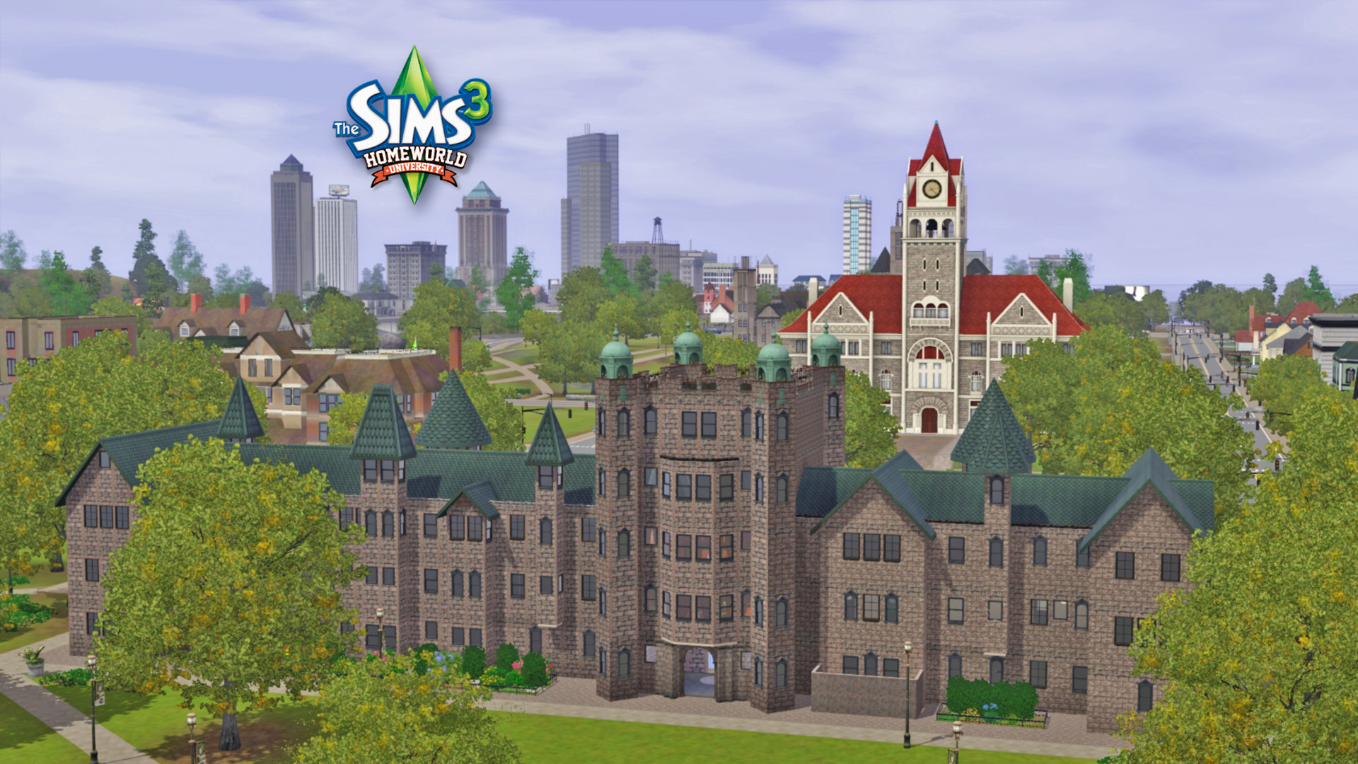 Sims 3 university freebies